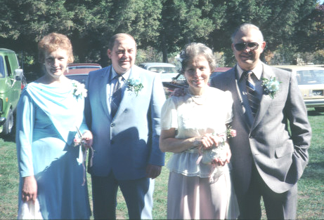 At Krys and Rick's Wedding 1981